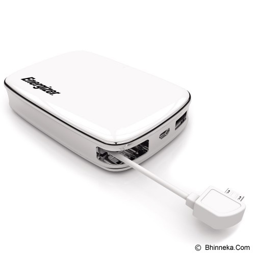 ENERGIZER Powerbank 6000mAh [XP6000M-WH] - Portable Charger / Power Bank
